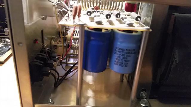 Ameritron AL-811 Repairs - Capacitors