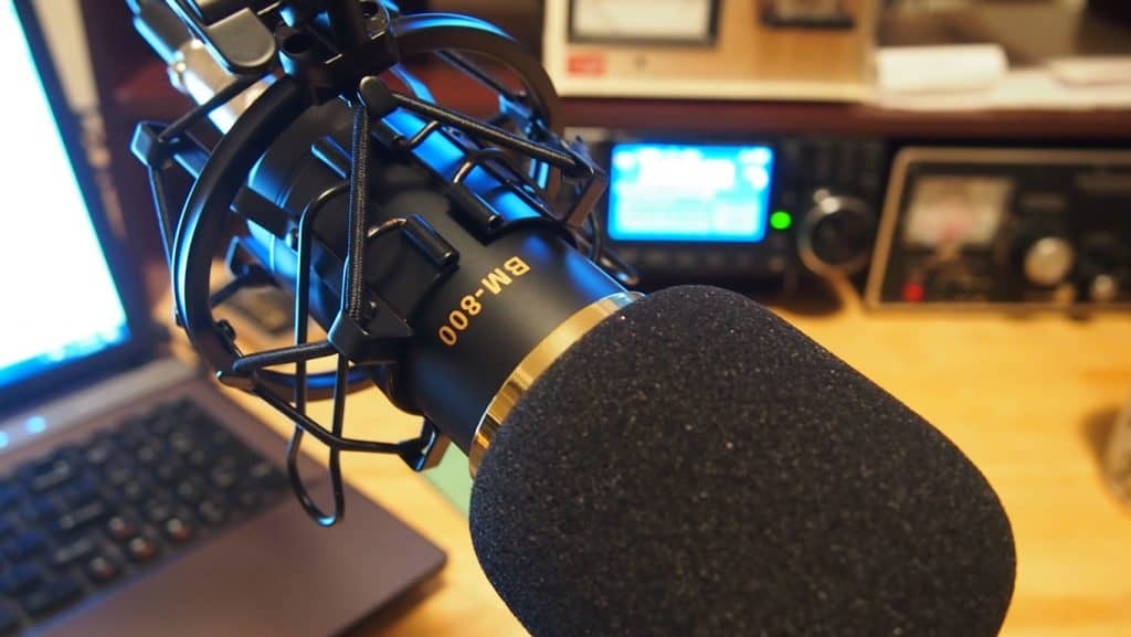 icom 7300 microphone
