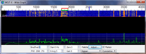 WSJT-X Wide Graph