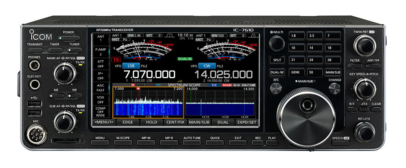 Why I Chose The Icom 7610 Over The Flex 6400M - Ham Radio