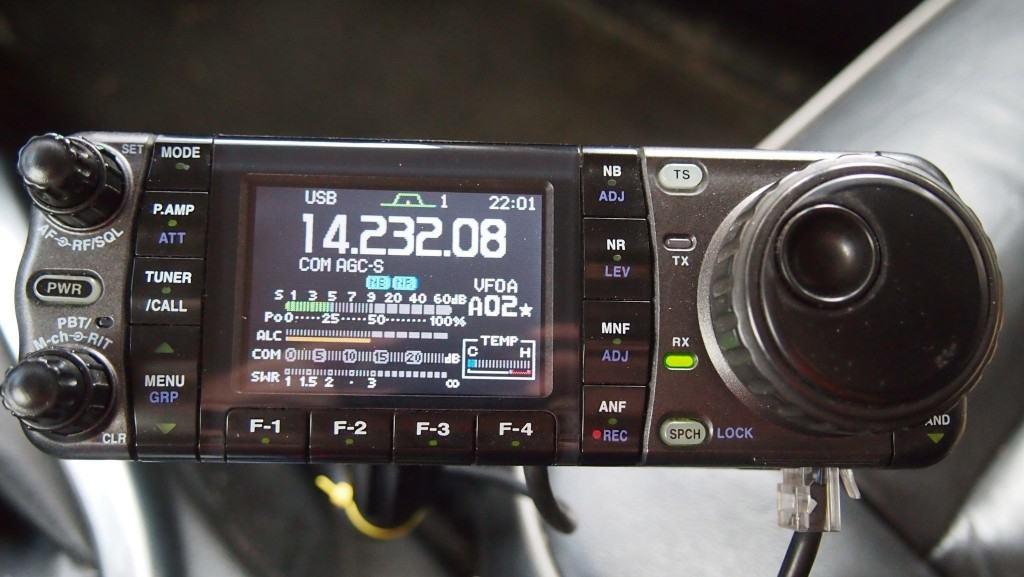 Icom 7000 vehicle bonding