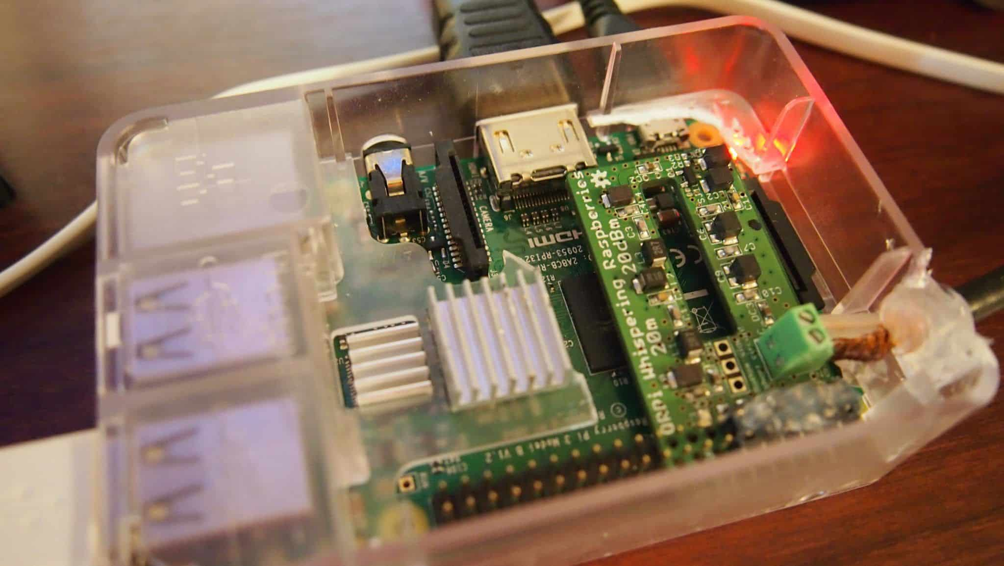 TX Shield Raspberry Pi For WSPR And Improvements