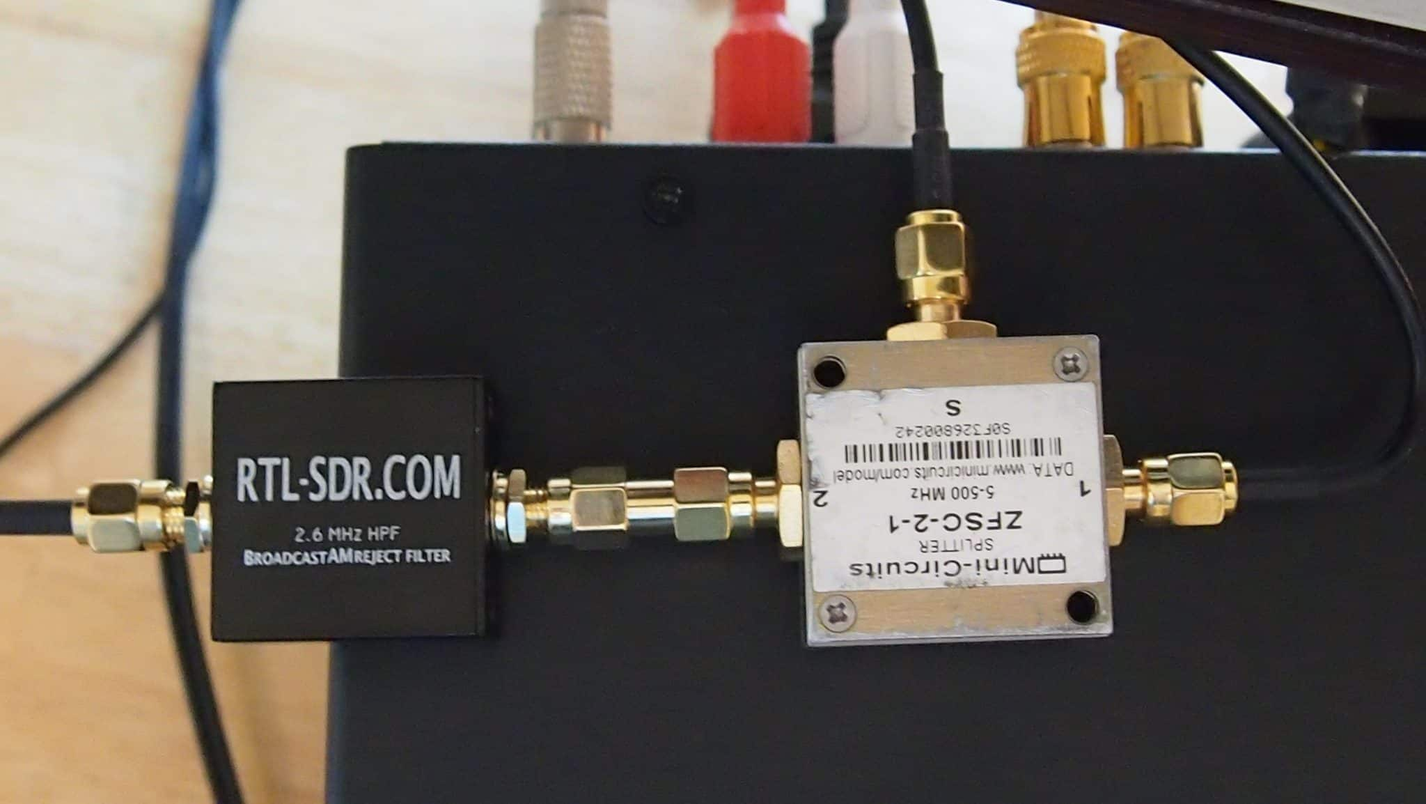 Icom 7300 Panadapter With DXPatrol, Mini Circuits Splitter