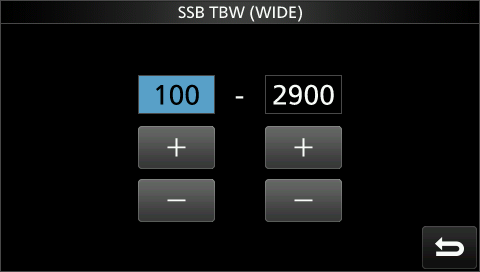 Transmit Bandwidth