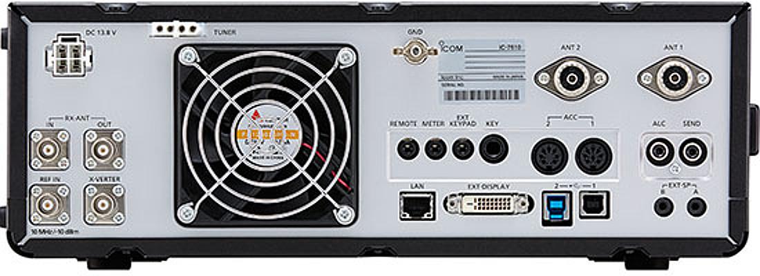 Icom IC-7610 Specs and Features, FAQ - Ham Radio with K0PIR