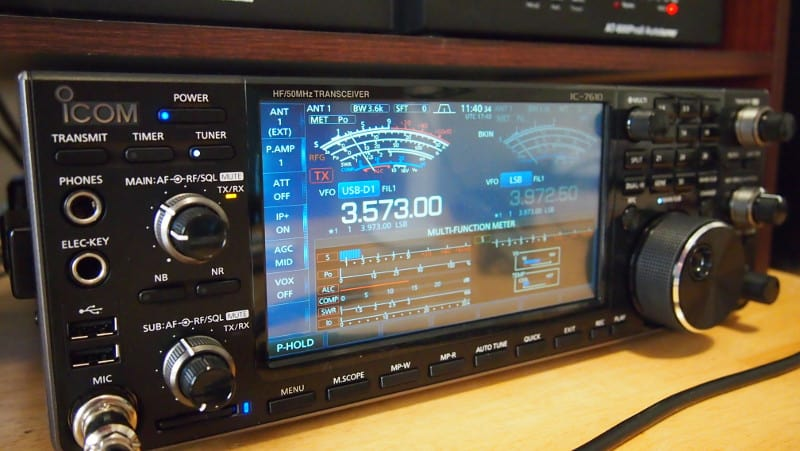 Icom 7610 Ham Radio Deluxe Setup with DM780 and WSJT-X - K0PIR