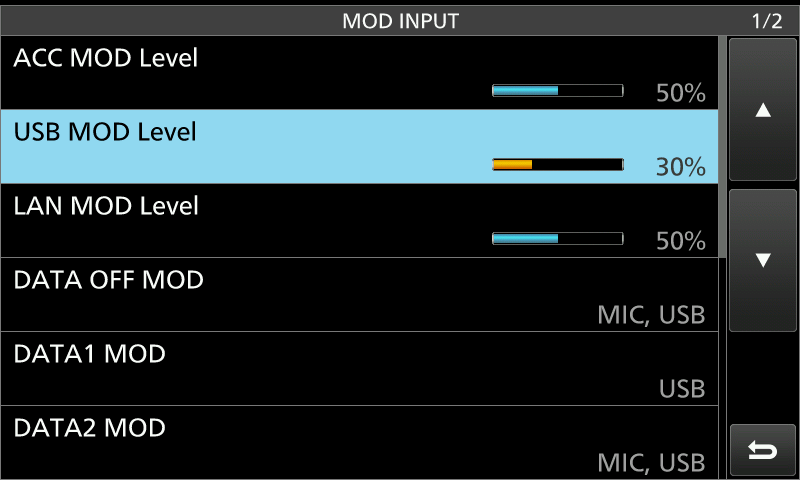 Icom 7300/7610 Adjusting RF Power For Digital Modes