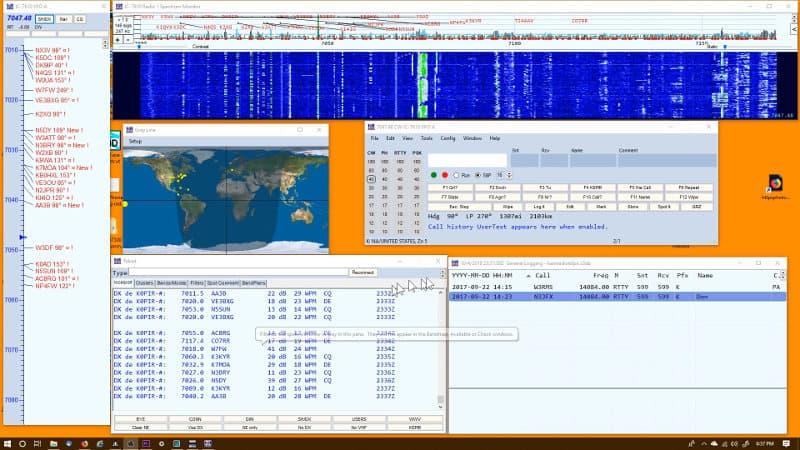 A Powerful CW Tool - CW Skimmer (CWS) 170 kHz Wide - K0PIR