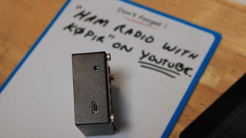 Handy Mini60 SARK100 Antenna Analyzer Overview - Ham Radio