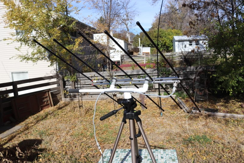 tripod mount for the elk antenna
