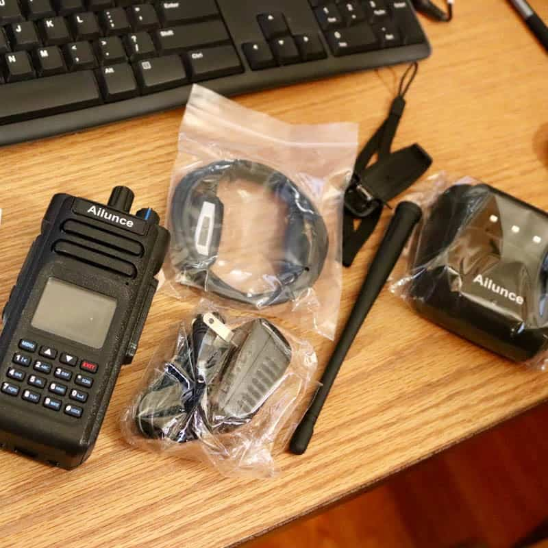 My New Ailunce HD1 - Ham Radio with K0PIR - Icom 7300 and 7610 SDR
