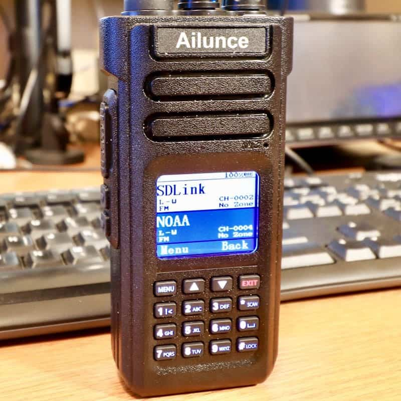 My New Ailunce HD1 - Ham Radio with K0PIR - Icom 7300 and