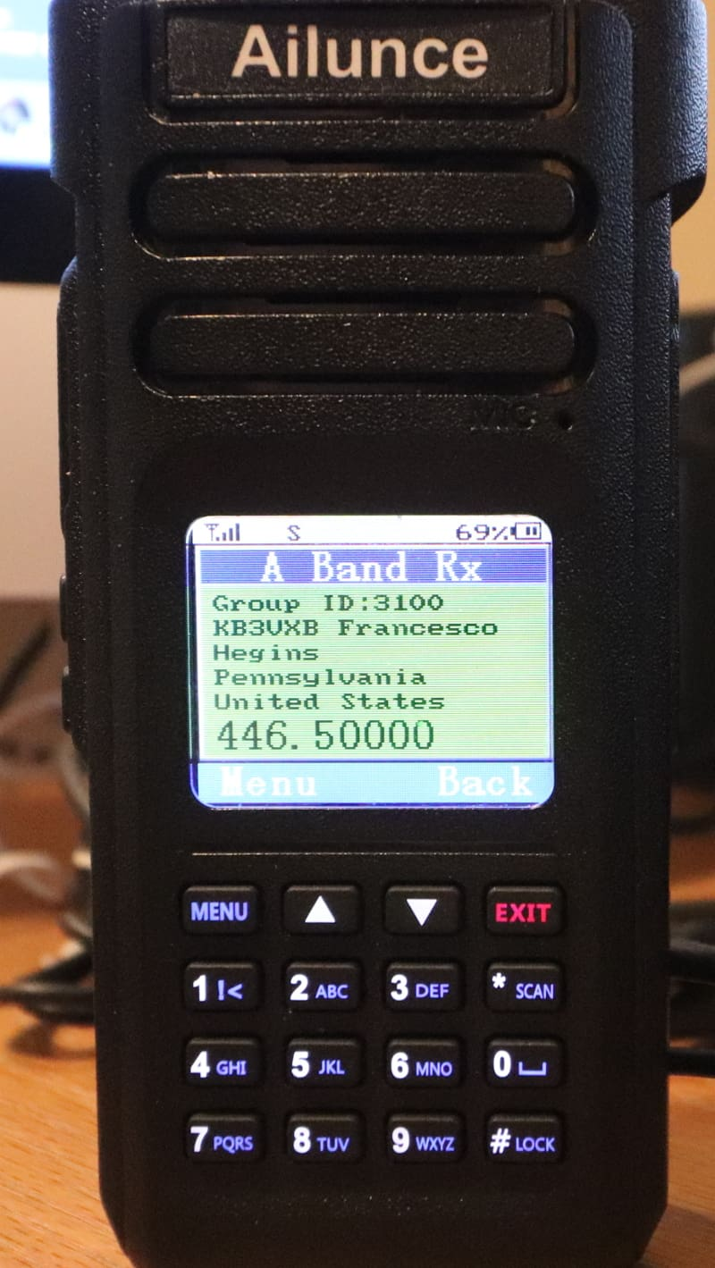 Ailunce HD1 Codeplug for Hotspot Users - Ham Radio with