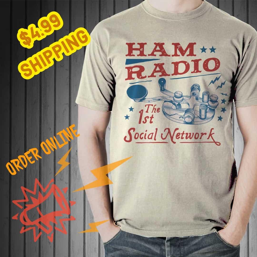 Ham radio tee shirt