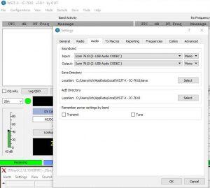 wsjt-x two instances audio