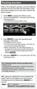 antenna tracking icom 7610